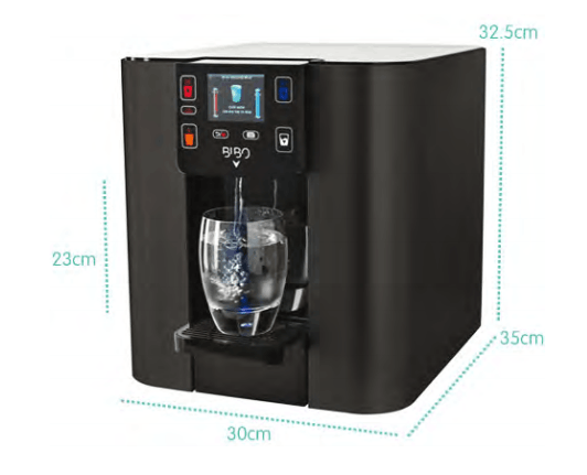 BIBO Water Dispenser Dimensions