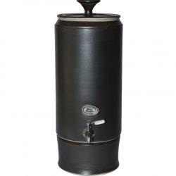 Matt Black Ceramic Water Purifier