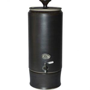 Matt Black Slim Southern Cross Pottery Ceramic Water Purifier