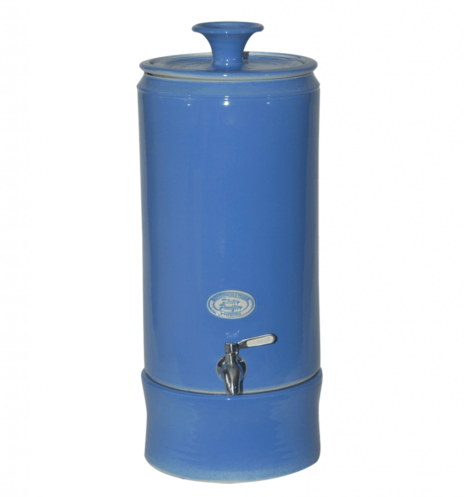 Ceramic Water Purifier Blue Carelux