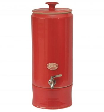 """Red Ceramic Water Purifier"""