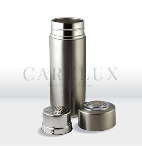 ultraceram stainless steel alkaline ionizer water bottle carelux
