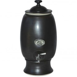 """Ceramic Water Purifier Dark Brown"""