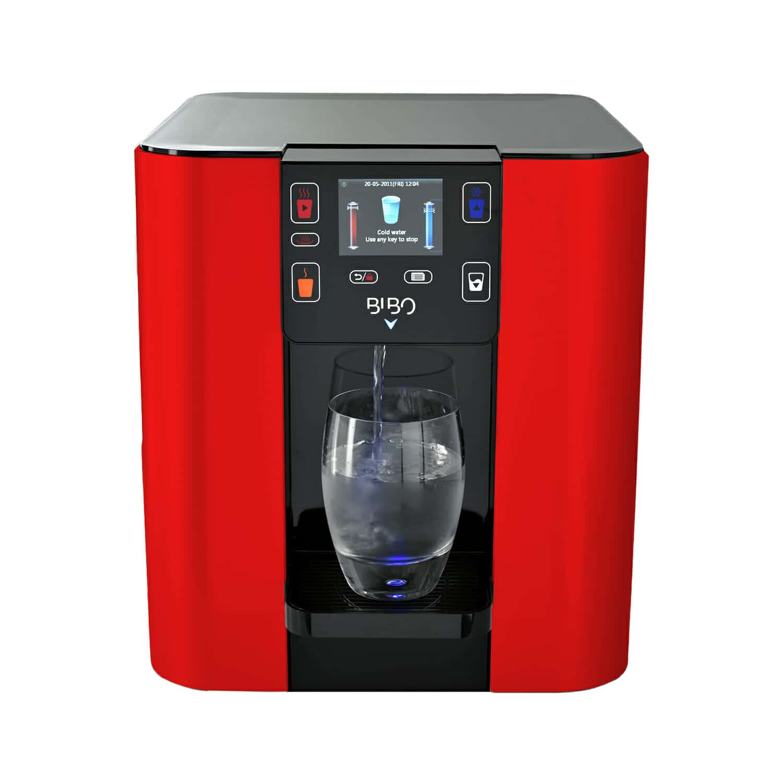 Bibo Water Dispenser Red Hot Carelux