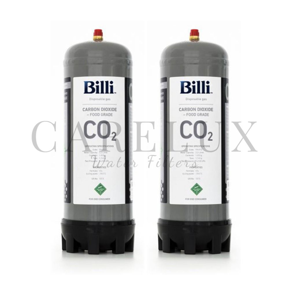 Billi 996912 Sparkling Replacement Co2 Cylinder 2 Pack