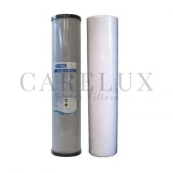 "1 Micron Big Blue 20"" x 4.5"" Carbon Block & Sediment Filter Cartridge"