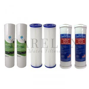 Water Filter 3 Stage Replacement Filter Pack