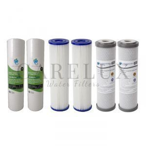 "Replacement Pack 10"" x 2.5"" for 3 Stage Water Filter"
