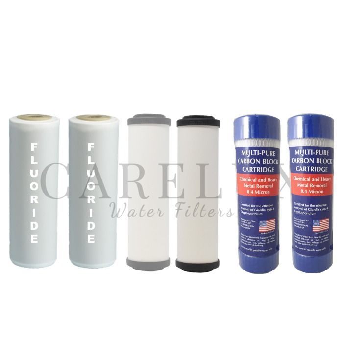 3 Stage Water Filter Replacement Pack 10 X 2 5 0 4