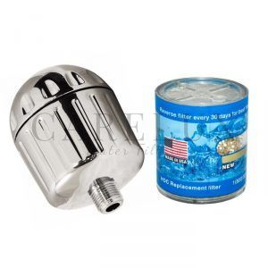 Sprite Showers High Output Chrome Plastic (Includes 1 Extra Cartridge) | HO2-CM