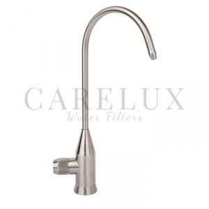 Stainless Steel Wheel Faucet for Filtered Drinking Water.