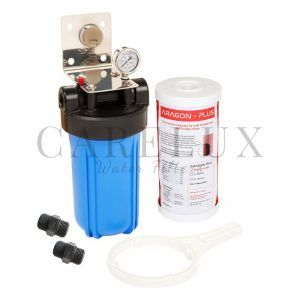 "Big Blue Whole House Water Filter System with Aragon Filter 10"" x 4.5"""