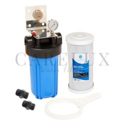 """Big Blue Single Whole House Water Filter System 10"""" x 4.5"""""""
