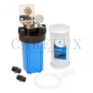 "Big Blue Single Whole House Water Filter System 10"" x 4.5"""